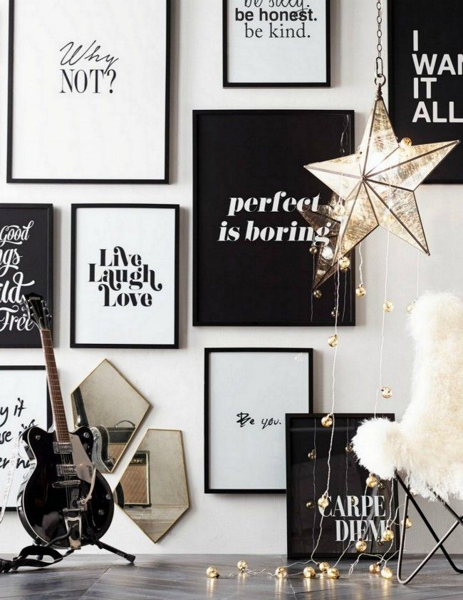I Want To Do Something Like This In My Room Where I Print A Bunch Of Inspirational Sayings Put Them In Nice Frames And Make An Inspiration Wall
