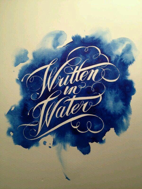 Typograhy +blue
