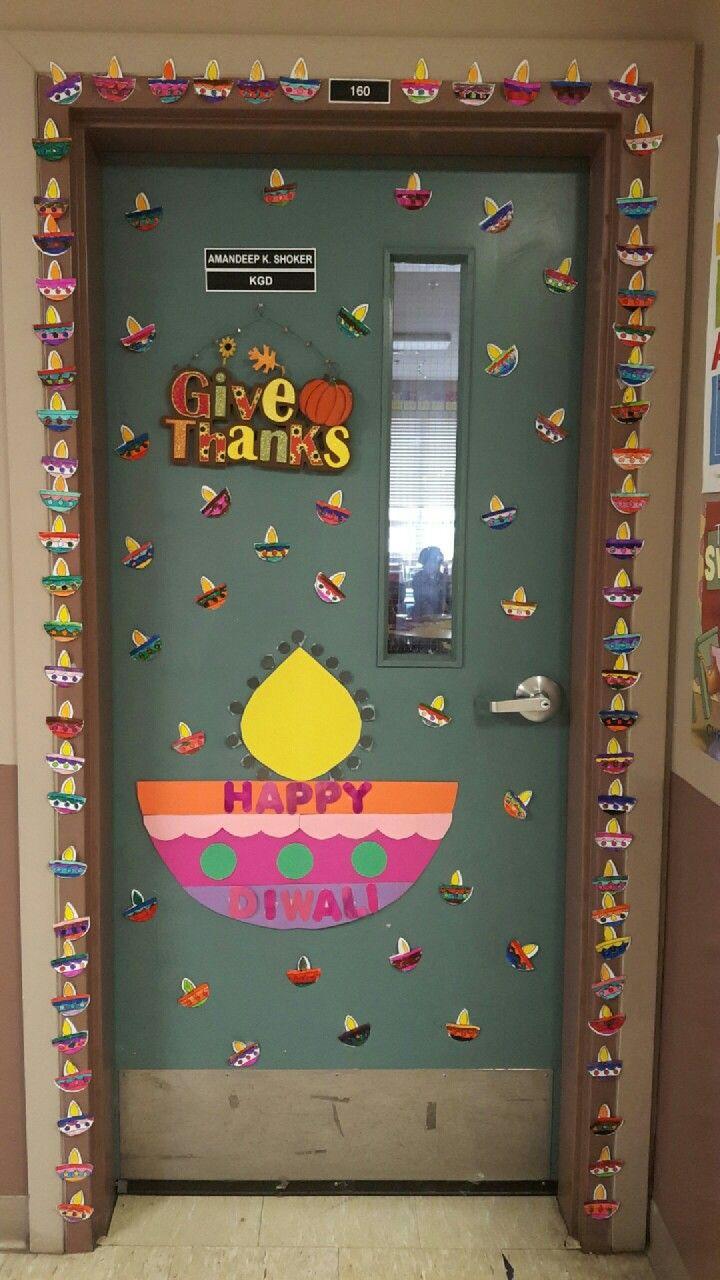 Classroom Decoration Ideas For Diwali ~ Diwali door decoration best of kgd pinterest