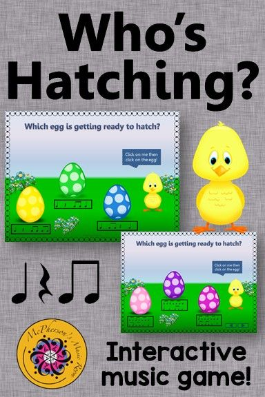 Rhythm Game! This interactive elementary music game is perfect anytime but especially in the spring. Get ready for the giggles!! Great music education resource for centers and subs!