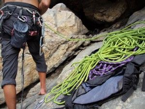 A beginner's rock climbing dictionary.