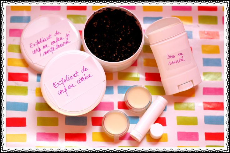 Organic homemade products. I only use organic ingredients and create the products upon your request.