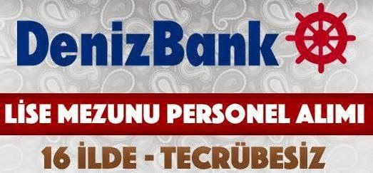 Denizbank Lise Mezunu Personel Alımı İş Başvurusu http://www.isbasvurusu.org/2015/02/denizbank-lise-mezunu-personel-alimi-is-basvurusu.html