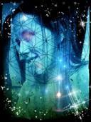 Erotische visualisatie dient om gevoelens te activeren en bewust tot ontwaken te brengen.  Het derde oog op het voorhoofd symboliseert het verwerven van een alomvattend mystiek bewustzijn!    ~