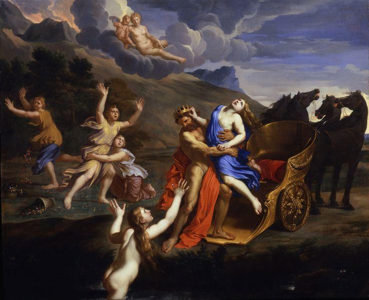 Baroque   Nicolas Mignard   The Rape of Proserpina   1651   Private ...