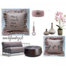 Brudnoróżowa poduszka Miracle