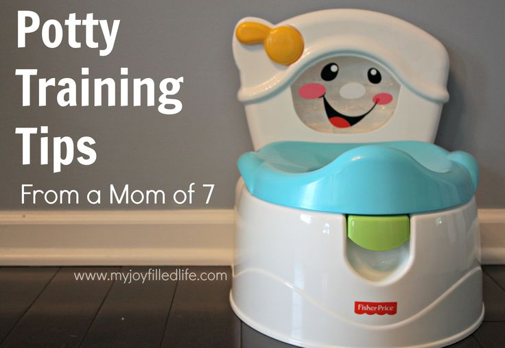 Potty Training Tips from a Mom of 7 {and a Potty Chair Giveaway} - My Joy-Filled Life