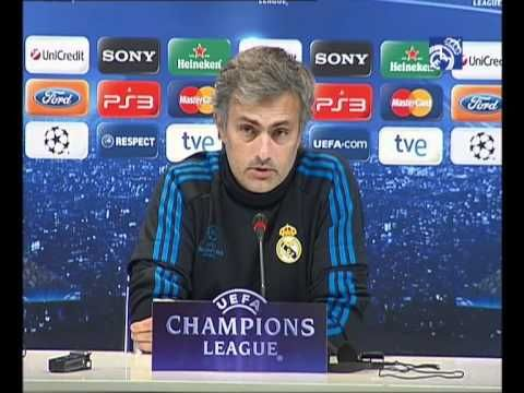 Video Real Madrid-Dínamo de Zagreb: Rueda de prensa de Josè Mourinho
