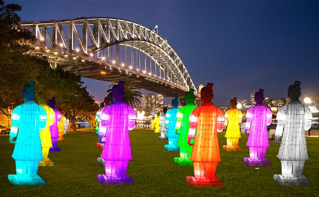 Sydney WeekendNotes - Lanterns of the Terracotta Warrior Exhibition - Chinese New Year - Sydney
