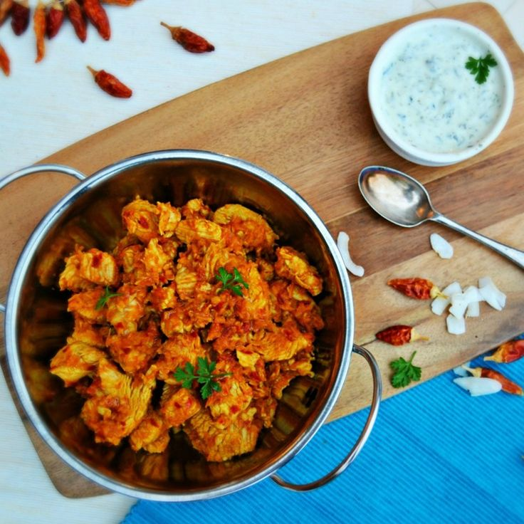 Turkey & Coconut Curry with Raita {inspired by Cyrus Todiwala}