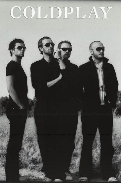 Chris Martin and Coldplay enjoy a sunny day in this great band portrait poster! Ships fast. 24x36 inches. Our awesome selection of Coldplay posters will give you a Rush of Blood to the Head! Need Post