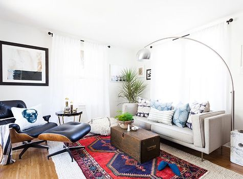 Jessica McCarthy via decorist (like this vibe for the office)