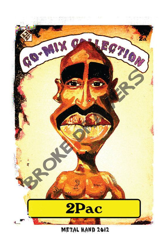 Hip Hop Gangster Rap 2Pac Tupac from CoMix by BrokeDrawers on Etsy, $7.00   Hip Hop Gangster Rap 2Pac Tupac from CoMix by BrokeDrawers on Etsy, $7.00  #KidDyno #Beats #Producer Sign up today, over 100s of free downloads http://kidDyno.com