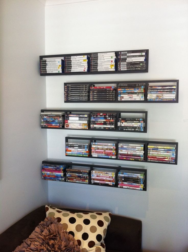Wall Mounted Dvd Storage Ideas icsufagsorg