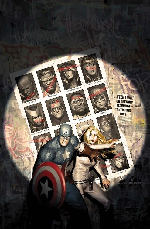 Captain America 6 variant cover by Gerald Parel, 2012