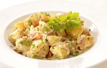 Salade de pommes de terre à la Normande