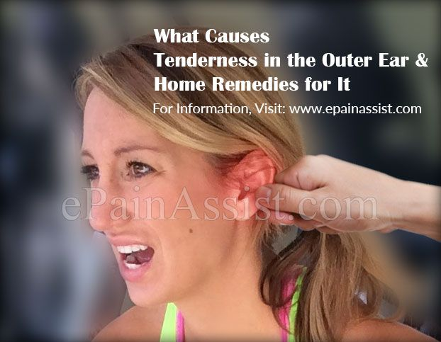 What Causes Tenderness in the Outer Ear & Home Remedies for It