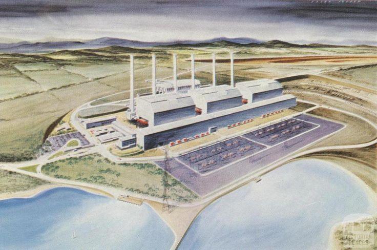 Hazelwood Power Station, 1965