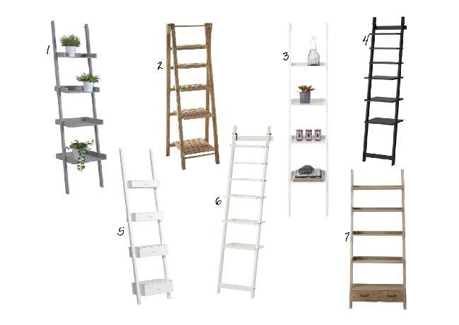 Estantería escalera selección de compras | La Garbatella: blog de decoración, estilo nórdico.