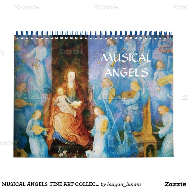 MUSICAL ANGELS  FINE ART COLLECTION   2016 CALENDAR