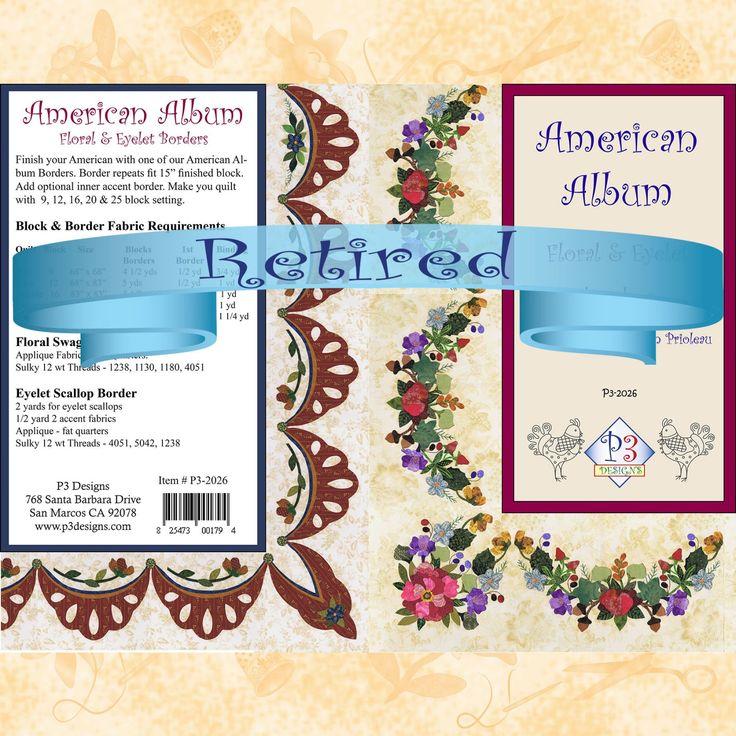 P3-2026 Floral Swag & Eyelet Borders