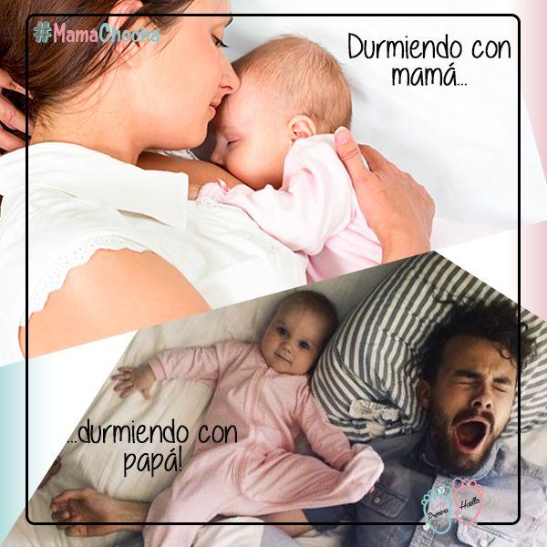 Mamá, todos sabemos que cuando duermo con el papá siempre nos vemos así :P