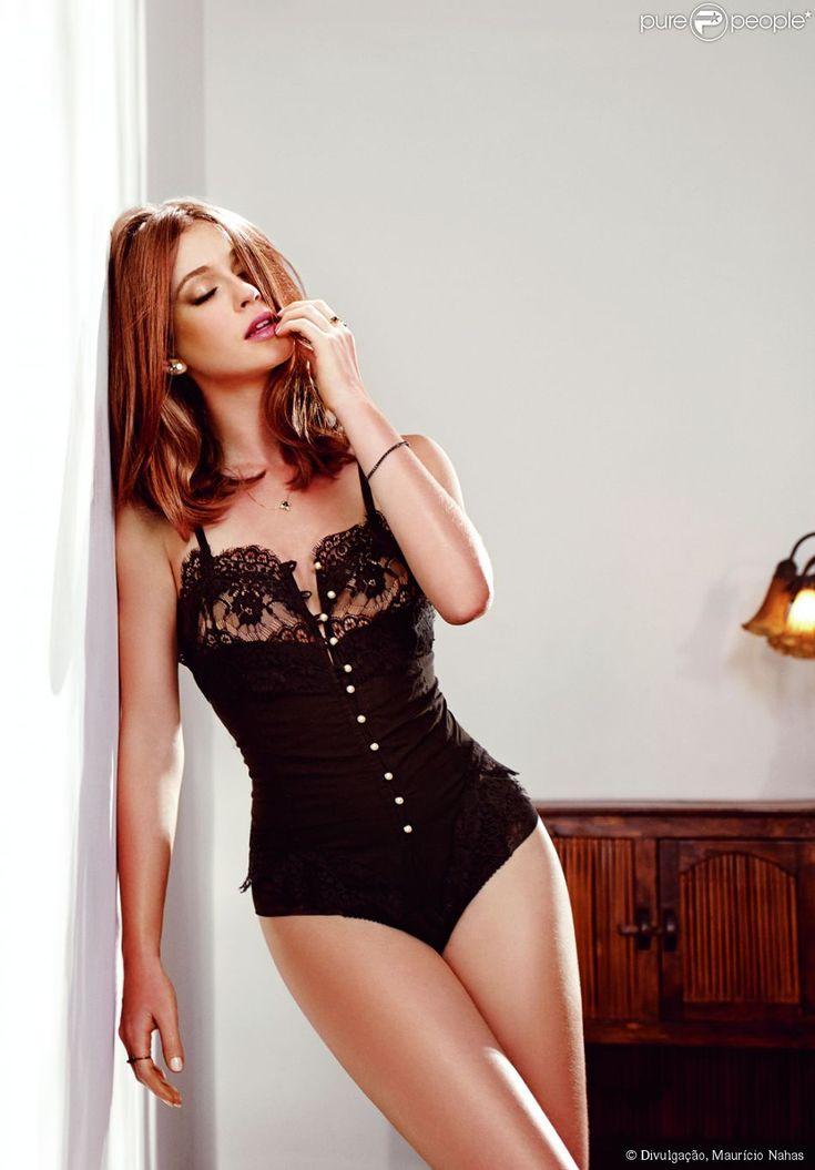 Marina Ruy Barbosa já foi sondada para posar nua: 'Faria se precisasse muito', afirmou a atriz em entrevista ao programa 'De Cara', nesta quarta-feira, 25 de fevereiro de 2015