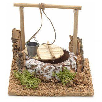 Nativity setting, terracotta well, Arabian style 10x12x12cm | online sales on HOLYART.com