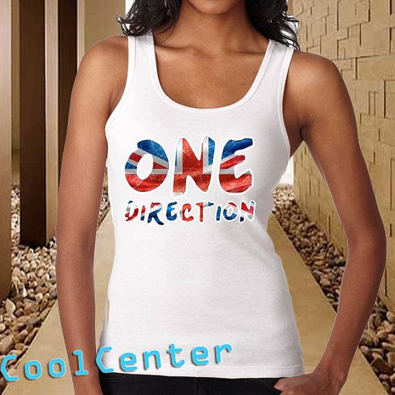 one direction flag for womenprint screen tank top by CoolCenter, $20.99