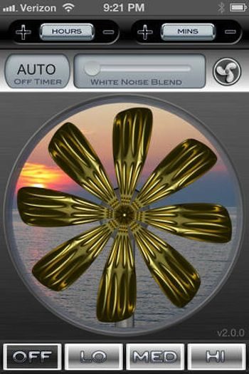 The Best White Noise Apps & Sites - pictured: Sleep Fan white noise app : techlicious   April 11, 2014