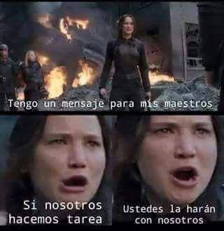 Resultado de imagen de los juegos del hambre memes en español
