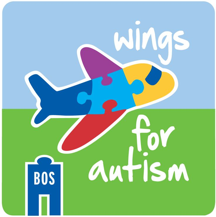 "The Wings for Autism program is designed specifically for families with autistic children to help ease the stress of flying. With this unique concept in mind, Massport hosts a ""dress rehearsal"" open house day to give these families the opportunity to experience travel through Boston Logan before their actual trip."