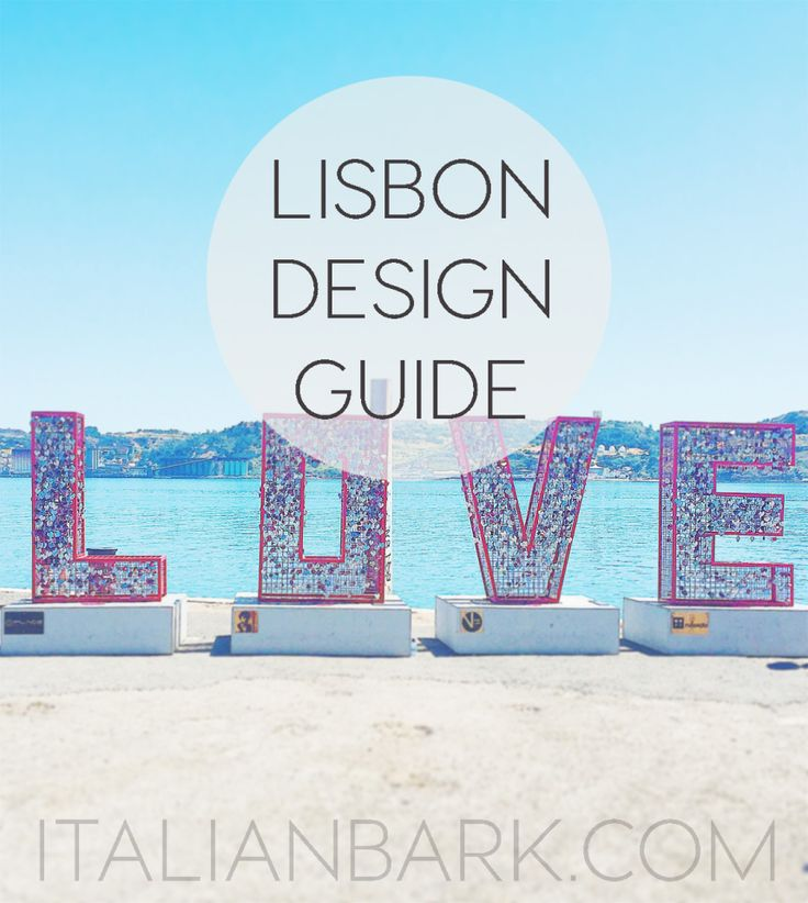 Lisbon Design Guide   Cool places to visit, eat, drink and shop in the Portuguese capital - via @italianbark 28.10.2015   One of the most surprising things about my travel in Lisbon was to find an incredible lively city in the design point of view, with many interesting hotspots of contemporary architecture and interiors, in addiction to its strong tradition and history. I can say now that Lisbon is one of my favourite European capitals and it was really a beautiful surprise...