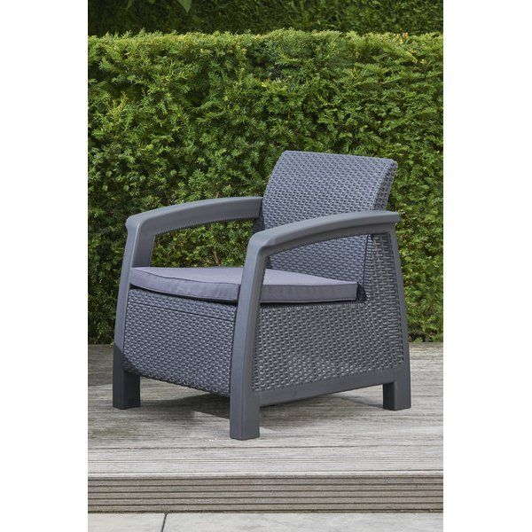 Berard All Weather Outdoor Patio Chair With Cushion Outdoor Patio Chairs Wicker Patio Chairs Patio Chairs