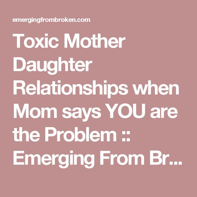 Mother and daughter relationships essay