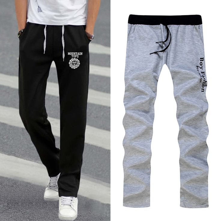 2017 Summer Street Fashion Men Elastic Waist Pants Men s All match Loose Solid Soft Cotton. Click visit to buy #CasualPants