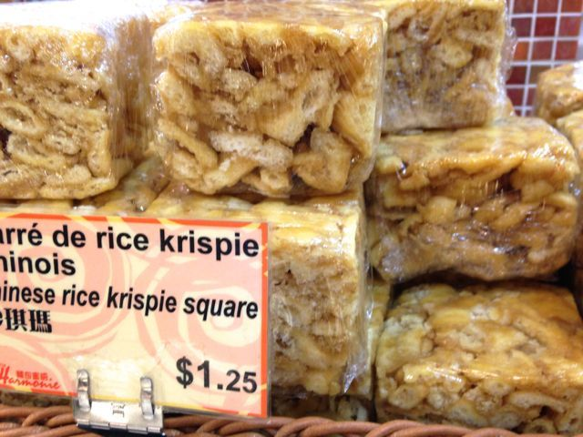 Chinese rice krispie squares. #Montreal