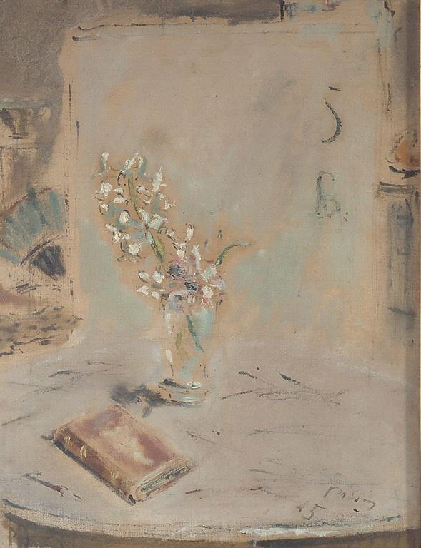 Filippo de Pisis, Fiori alla Finestra