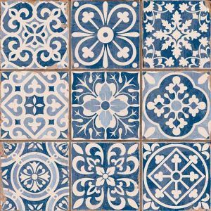 carrelage imitation carreau ancien bleu 3
