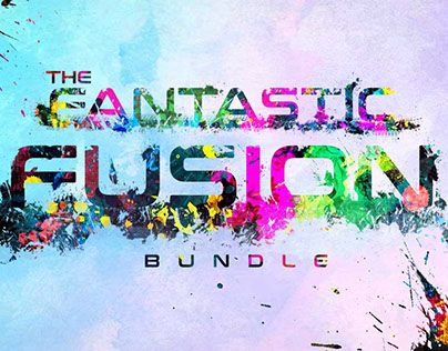 """Check out new work on my @Behance portfolio: """"Fantastic Fusion Bundle"""" http://be.net/gallery/60384929/Fantastic-Fusion-Bundle"""