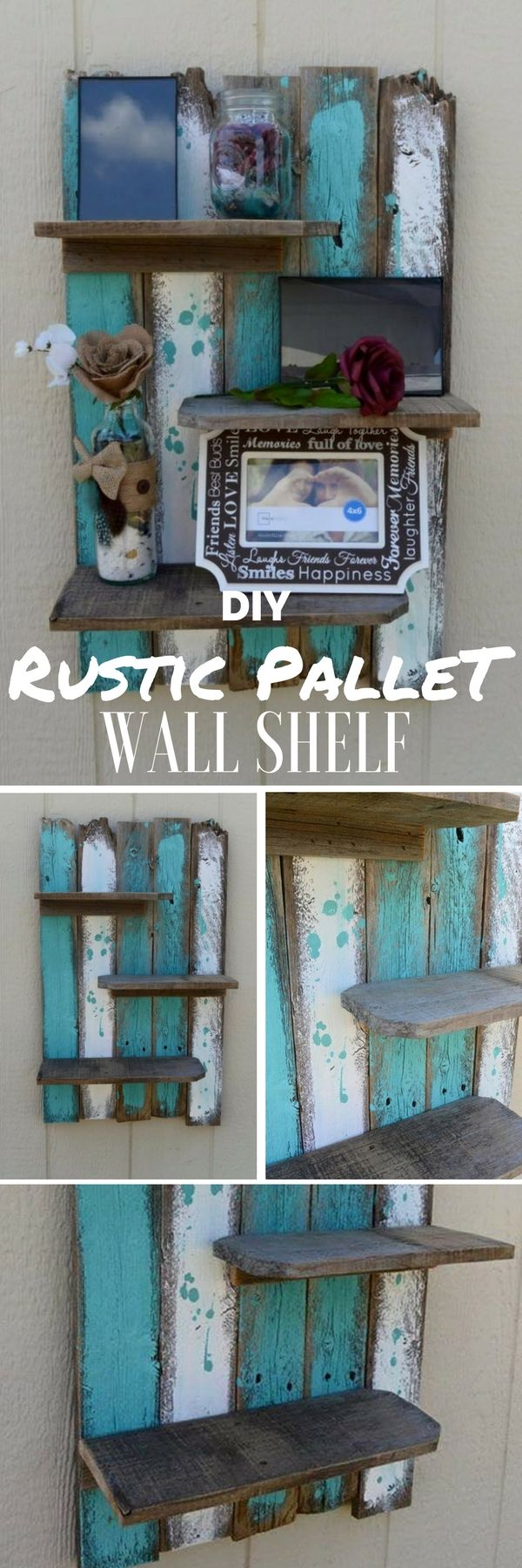 Check out the tutorial: #DIY Rustic Pallet Wall Shelf @istandarddesign