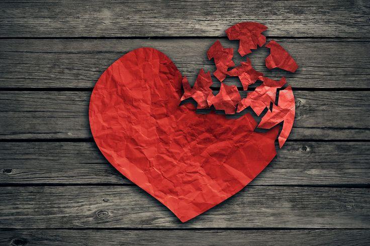 Le syndrome du cœur brisé, provoqué par un choc émotionnel intense, n'est pas toujours lié à un évènement triste / Une émotion heureuse trop forte peut aussi malmener le cœur... © pathdoc, Shutterstock