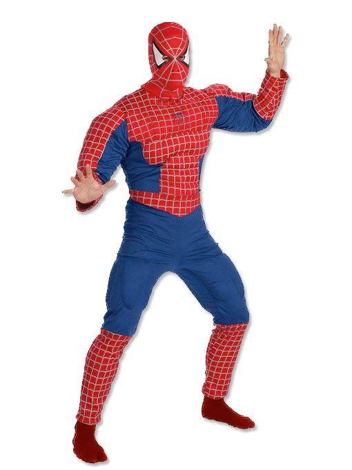 spiderman karneval kost me f r m nner kost me m nner. Black Bedroom Furniture Sets. Home Design Ideas