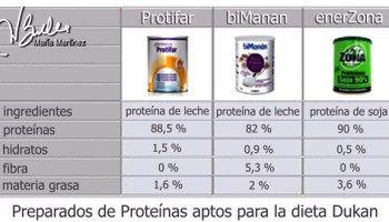 Proteína en polvo apta para Dukan (Ataque)