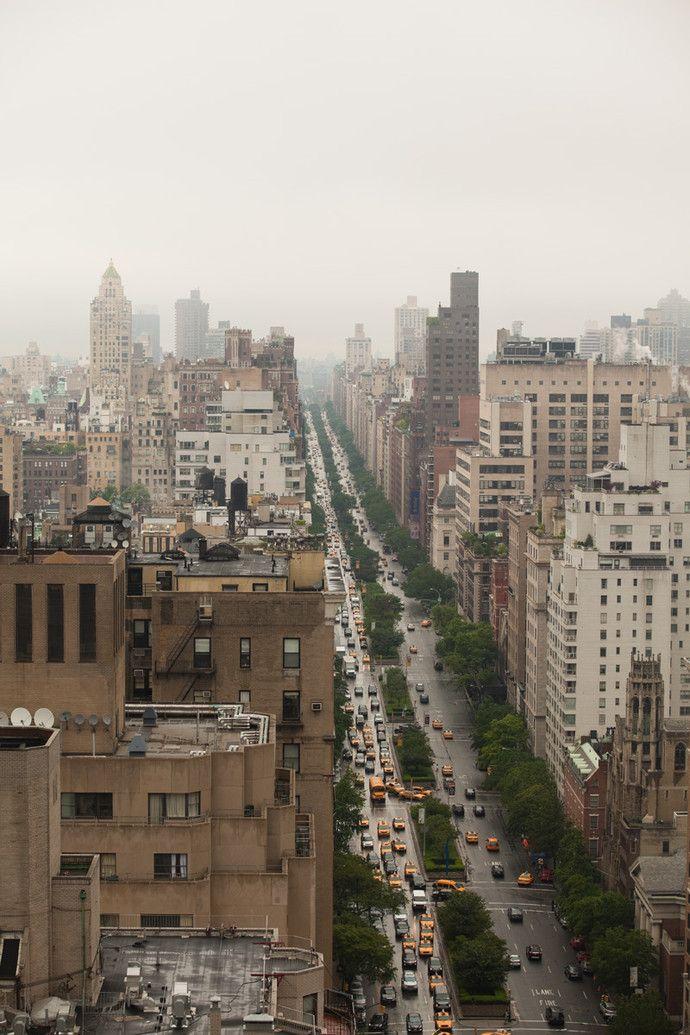 Вид на Манхэттен из квартиры Иванки Трамп.