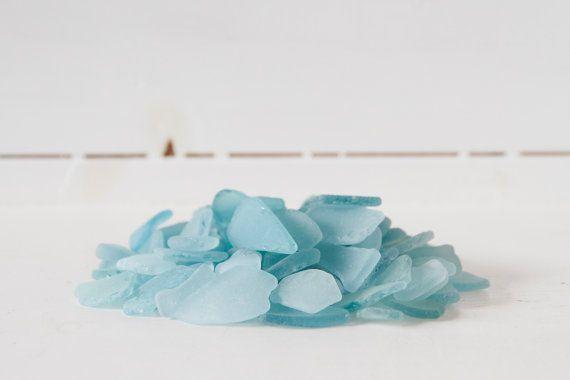 Bulk 100 pieces of assorted Aquamarine Japanese Sea by ReverseGem