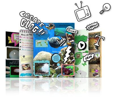 Glogster has excellent potential for creating an online, interactive poster presentation. Students can add audio, images and video plus a load of great visuals...