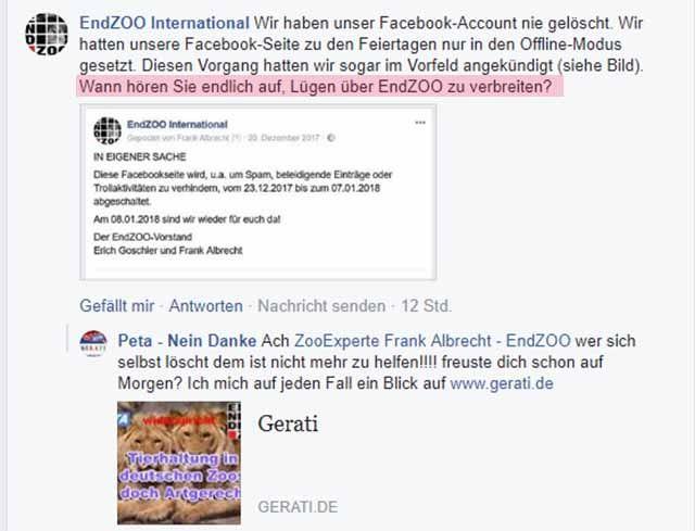 Veruntreut Frank Albrecht EndZoo Gelder? (9)