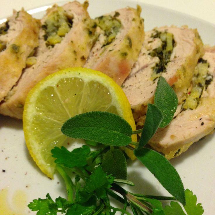 La Zucca Golosa: Petto di tacchino alle erbe aromatiche e limone #lightcongusto #pollo #FrescoIrinox