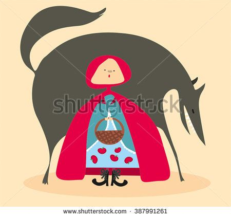 Little Red Riding Hood / vector-illustration / fairytale/animal, art, artwork, bad, basket, big, danger, design, digital, drawing, fairy, forest, girl, graphics, hood, icons, illustrated, illustration, image, kid, little, moon, people, person, picture, print-ables, red, rendered, renderings, renders, riding, royalty, stock, stranger, tale, vector, wild, wolf